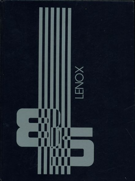1985 Lenox Memorial High School Yearbook Cover