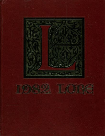 1982 Lawton High School Yearbook Cover
