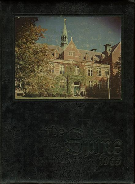 1965 St. John's Preparatory Yearbook Cover