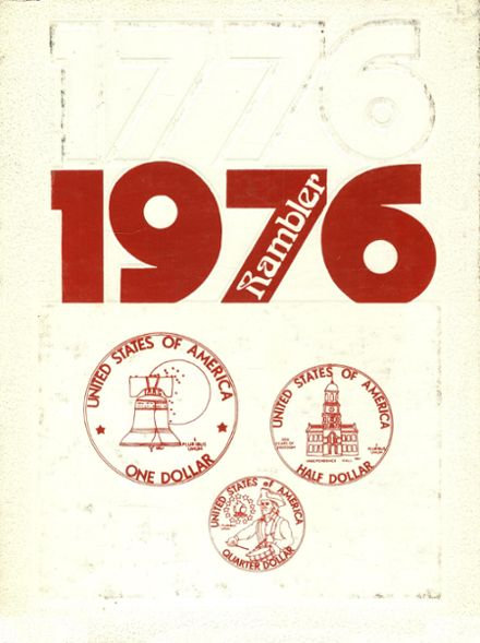 1976 Pleasant Hill High School Yearbook Cover
