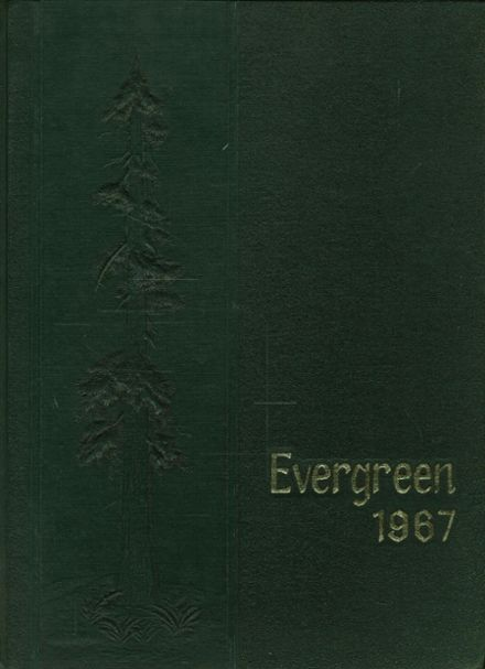 1967 Greenfield High School Yearbook Cover