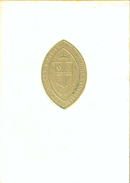 1965 St. Catherine's School Yearbook Cover