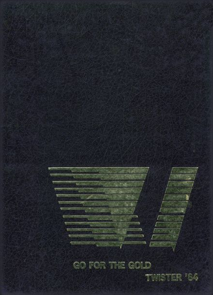 1984 Field Kindley Memorial High School Yearbook Cover