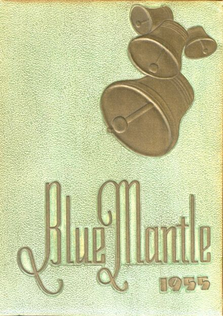 1955 St. Mary's High School Yearbook Cover
