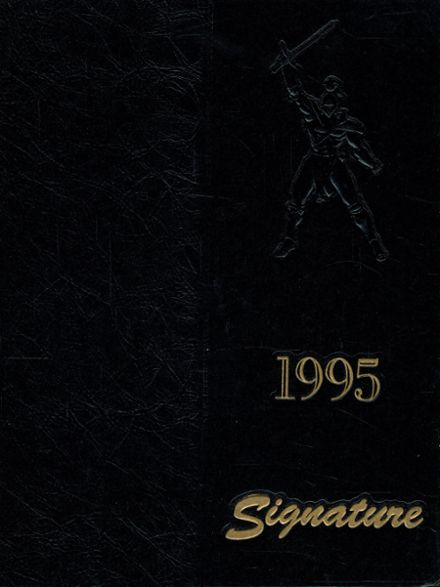 1995 Uniondale High School Yearbook Cover