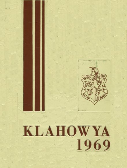 1969 Clover Park High School Yearbook Cover
