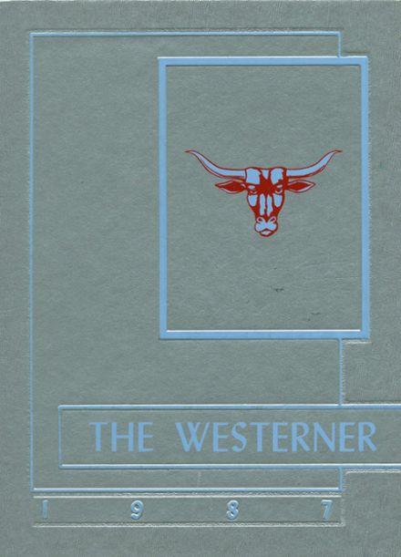 1987 Westwood High School Yearbook Cover
