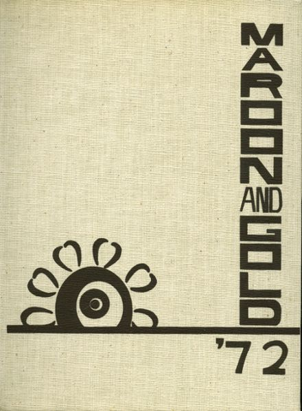 1972 Monmouth High School Yearbook Cover