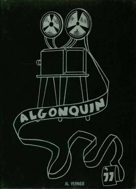 1977 Algonac High School Yearbook Cover