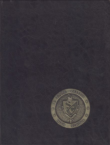 1975 South Carroll High School Yearbook Cover