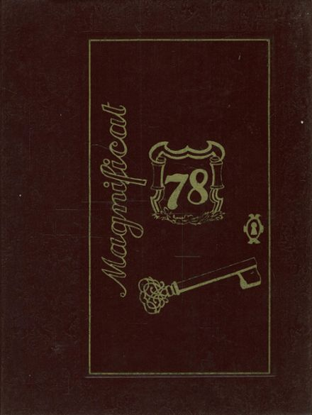 1978 St. Elizabeth's High School Yearbook Cover