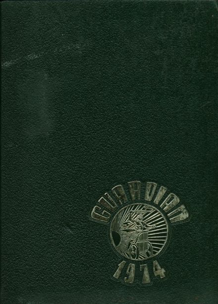 1974 Sharpstown High School Yearbook Cover