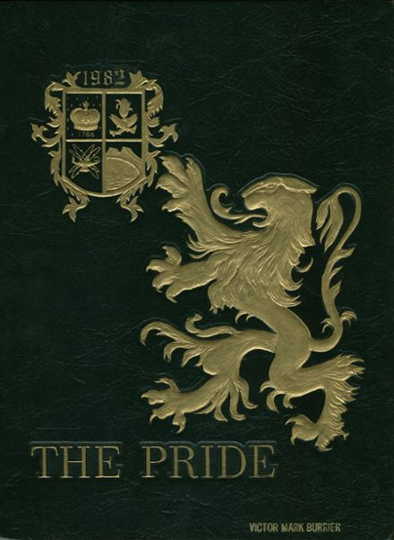 1982 Queen Anne's County High School Yearbook Cover