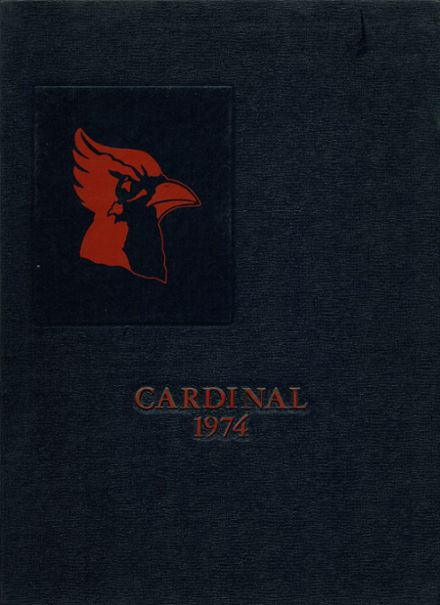 1974 Coon Rapids High School Yearbook Cover