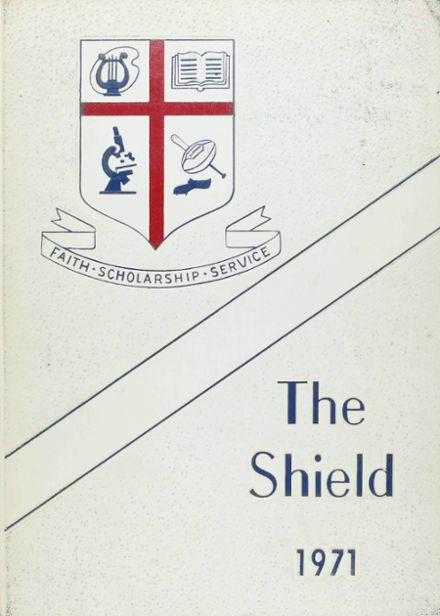 1971 St. Martin's Episcopal School Yearbook Cover