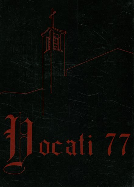 1977 St. Mark's Seminary Yearbook Cover