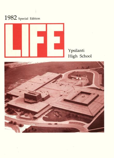 1982 Ypsilanti High School Yearbook Cover
