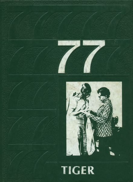 1977 Ripon High School Yearbook Cover