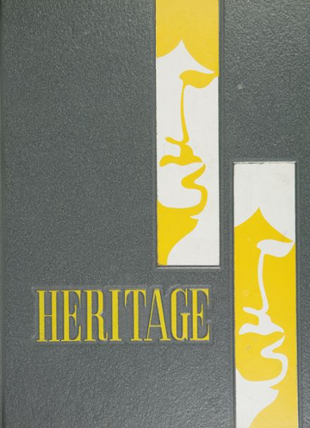 1969 Washington High School Yearbook Cover