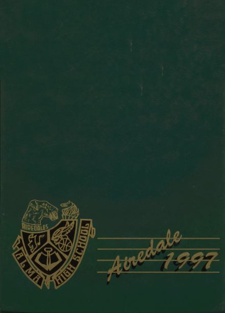 1997 Alma High School Yearbook Cover