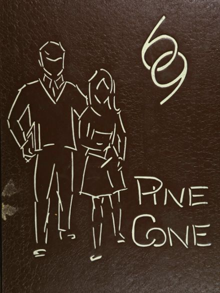1969 Rapid City Central High School Yearbook Cover