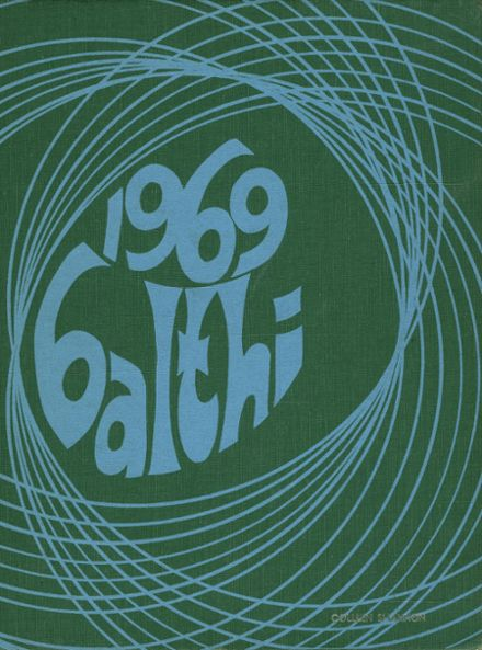 1969 Baldwin High School Yearbook Cover