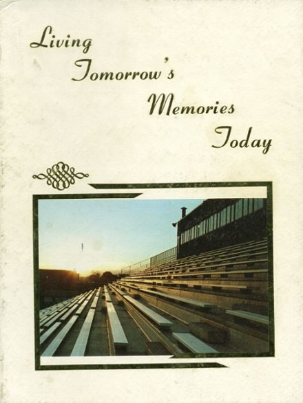 1982 Pueblo County High School Yearbook Cover