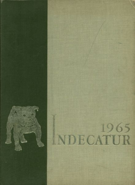 1965 Decatur High School Yearbook Cover
