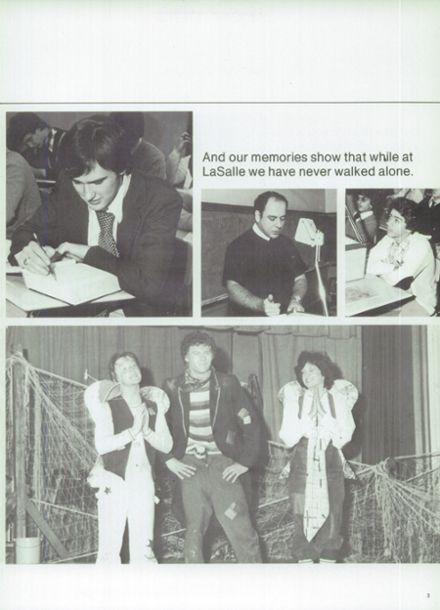 1979 Lasalle Academy Yearbook Page 7