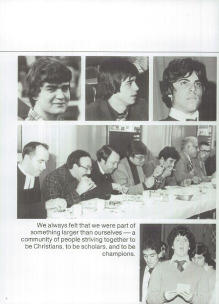1979 Lasalle Academy Yearbook Page 8