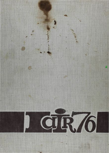 1976 Irving High School Yearbook Cover