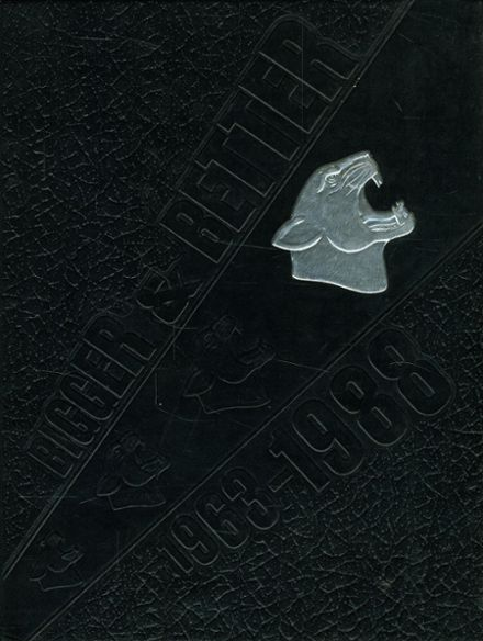 1988 Orange High School Yearbook Cover