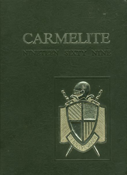 1969 Mt. Carmel High School Yearbook Cover