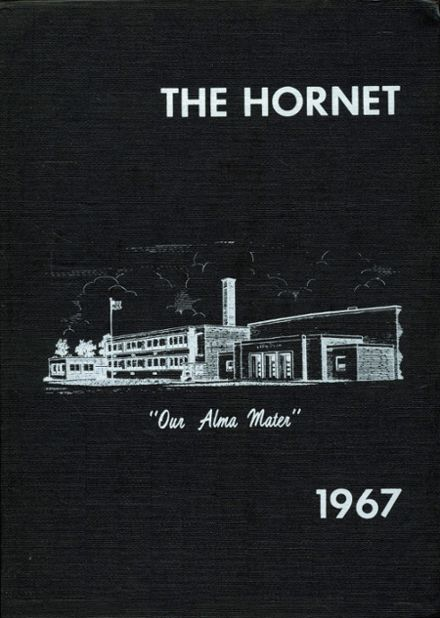 1967 Dawson - Bryant High School Yearbook Cover