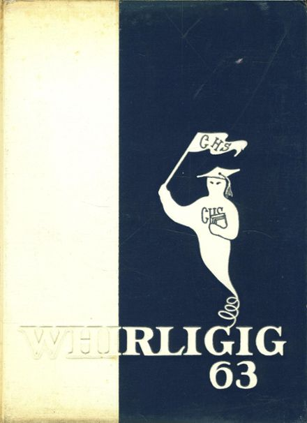 1963 Grimsley High School Yearbook Cover