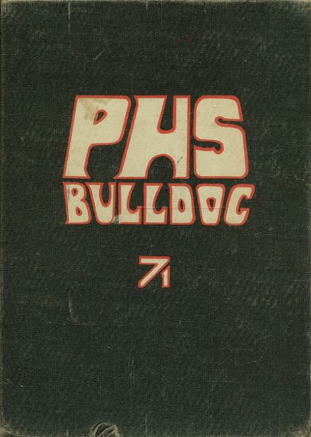 1971 Paragould High School Yearbook Cover