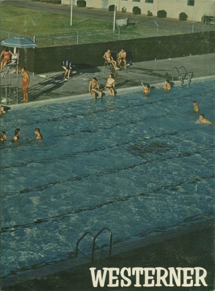 1965 West Phoenix High School Yearbook Cover