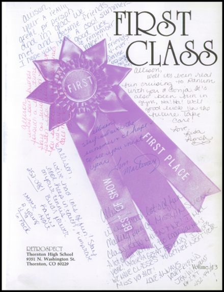 1987 Thornton High School Yearbook Page 5