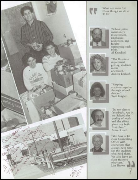 1987 Thornton High School Yearbook Page 7