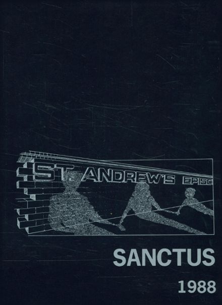 1988 Saint Andrew's Episcopal School Yearbook Cover