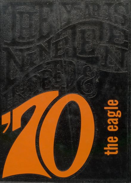 1970 Colby High School Yearbook Cover