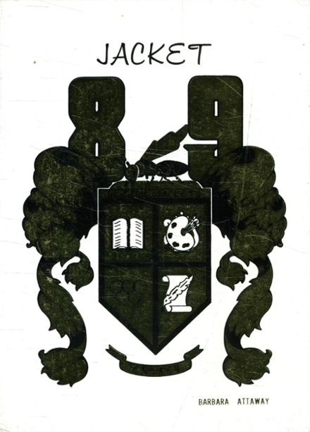 1989 Ensley High School Yearbook Cover