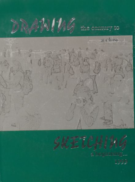 1999 Churchill County High School Yearbook Cover