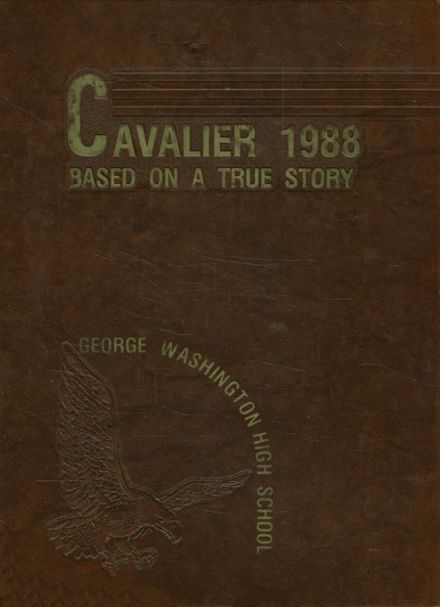 1988 George Washington High School Yearbook Cover