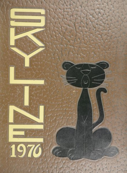 1970 United Township High School Yearbook Cover