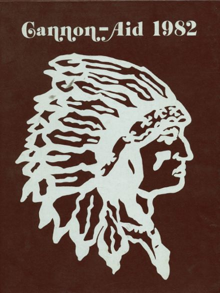1982 Gettysburg High School Yearbook Cover