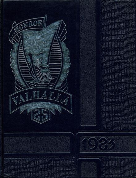 1983 Monroe High School Yearbook Cover