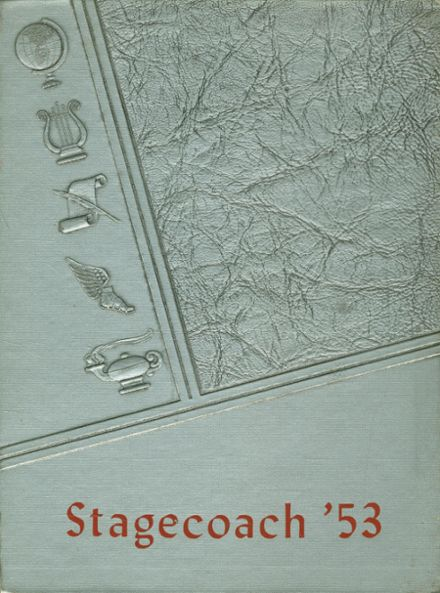 1953 Sidney High School Yearbook Cover