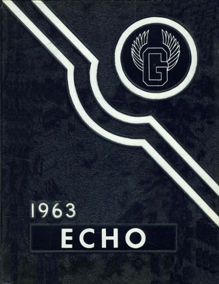 1963 Gladwin High School Yearbook Cover