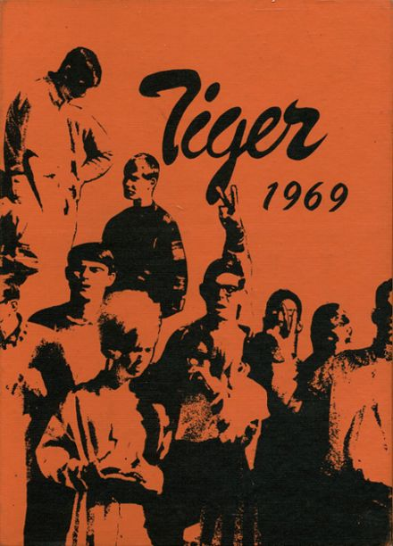 1969 Wewoka High School Yearbook Cover